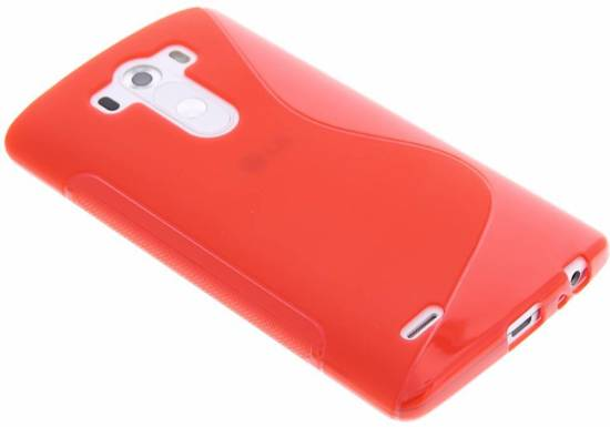 Coque Tpu Rouge S-line Pour Lg G3 kMTlytJvms