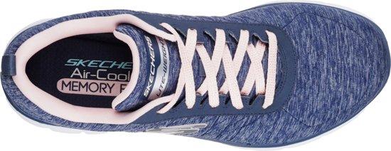 0 2 Appeal Sneakers Dames Flex Skechers Navy BHUxtw