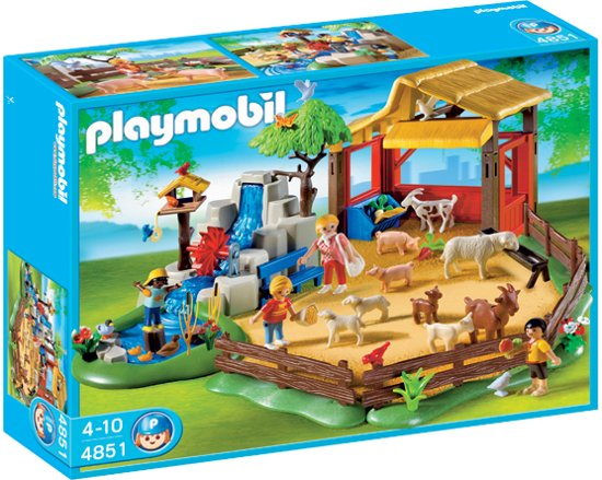 playmobil kinderboerderij 4851 playmobil. Black Bedroom Furniture Sets. Home Design Ideas