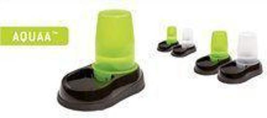 MAELSON Aquaa 150 - waterbak voor katten en honden - 1,5 liter - Zwart / groen