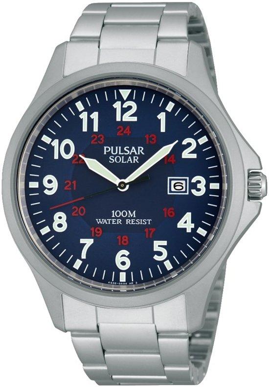 Pulsar - Pulsar Solar heren horloge PX3001X1