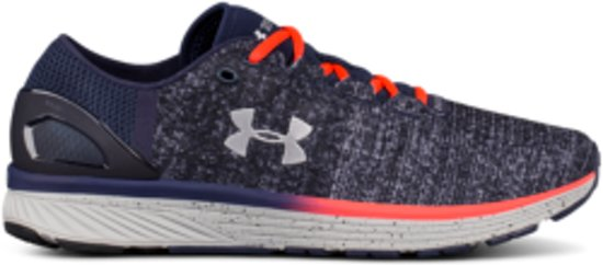 Under Armour Charged Bandit 3 Hardloopschoenen - Heren - Maat 44.5 - Glacier Gray