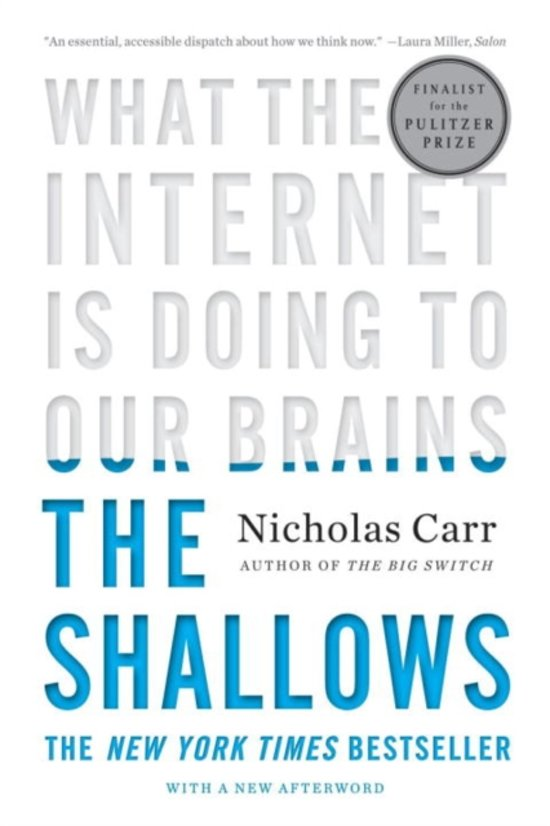 a critical response to nicholas carrs the shallows our attention span is not shortening