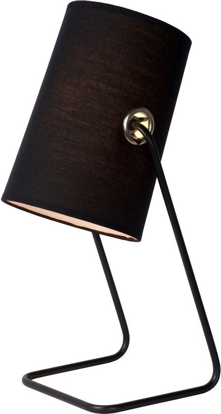 lucide bost tafellamp zwart. Black Bedroom Furniture Sets. Home Design Ideas