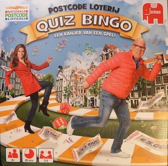 Postcode Loterij Quiz Bingo