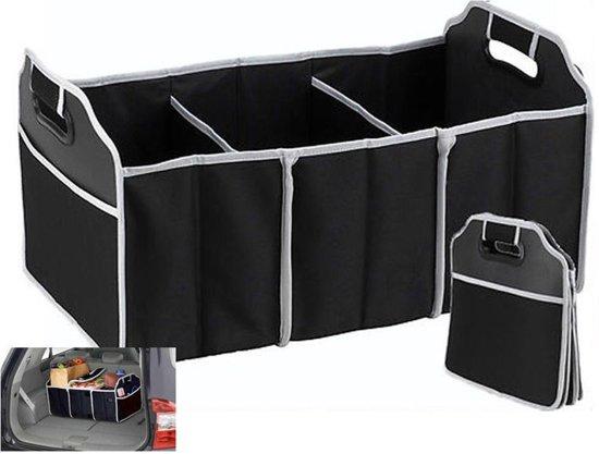 Kofferbak organizer - uw auto was nog nooit zo opgeruimd!