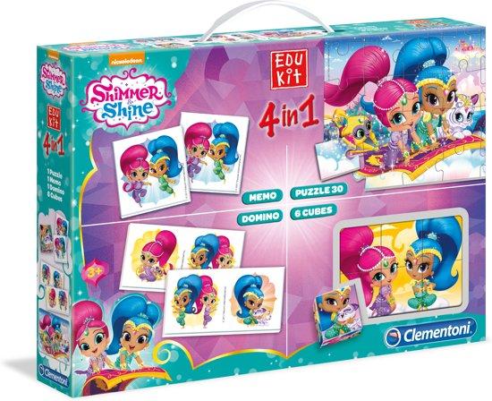 Clementoni Spelbox Shimmer En Shine 4-in-1