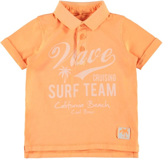 8a0b8a514c3122 bol.com   Name it Jongens Poloshirt - Orange Pop - Maat 98