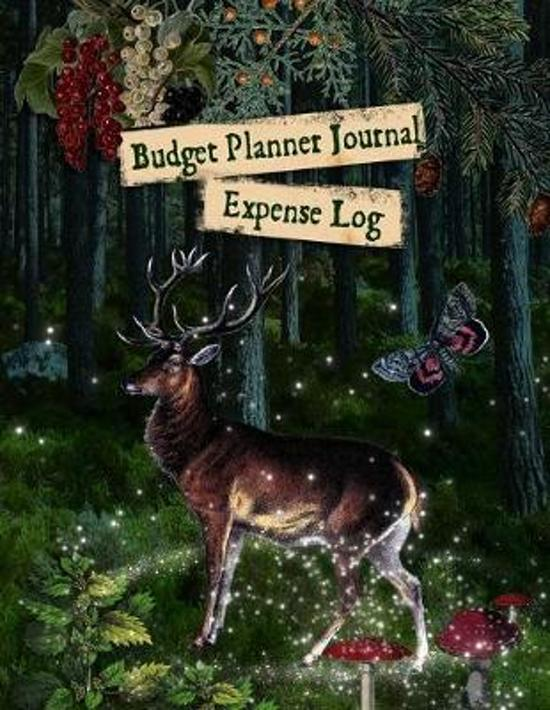 Budget Planner Journal: Expense Log, Deer In Woodland Monthly Planner and Organiser, Undated Household Finances, Savings Journal Kit, Bill Che