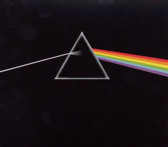 CD cover van The Dark Side Of The Moon van Pink Floyd