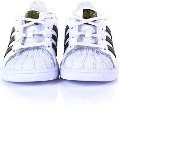 Adidas Meisjes Sneakers Superstar I Wit Maat 25