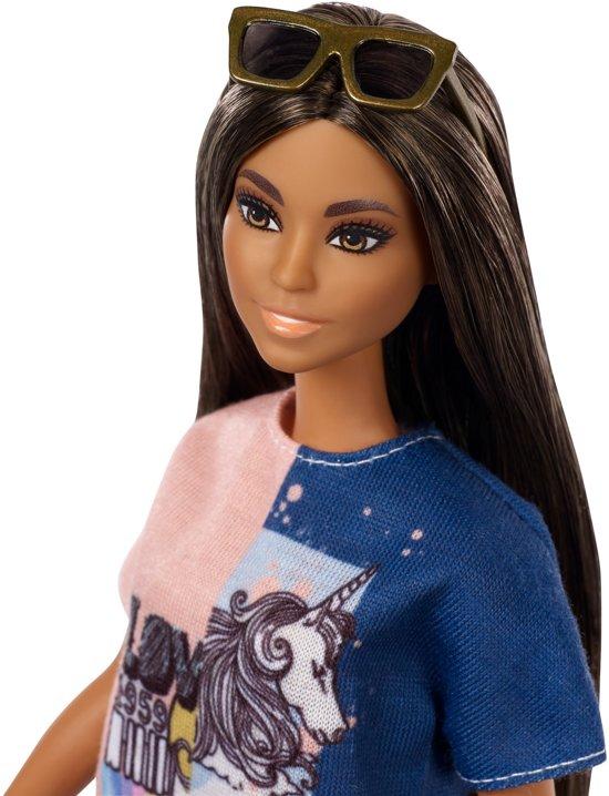 Barbie Fashionistas Pop - 2 Tone Graphic Dress