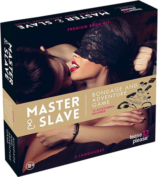 Tease en Please Master & Slave Bondage Erotisch Spel