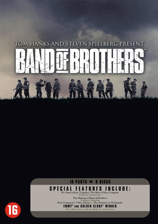 Cover van de film 'Band Of Brothers'