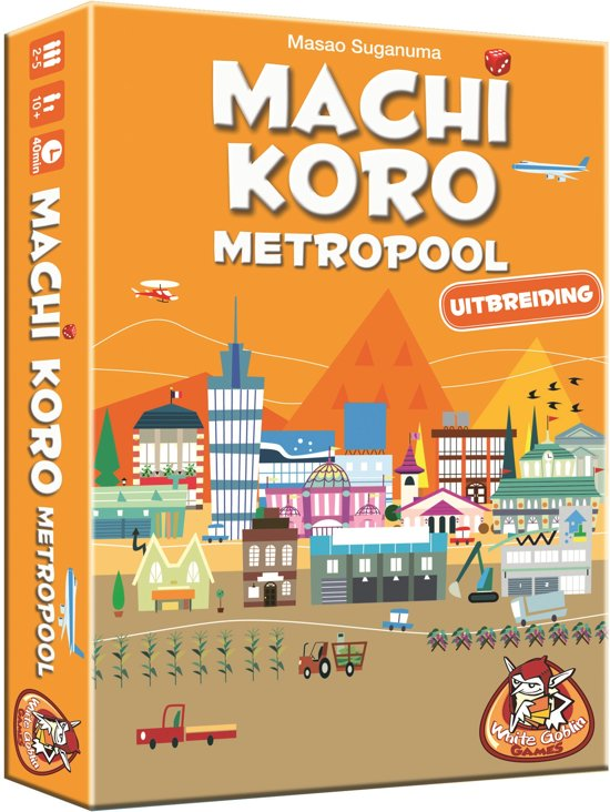 Afbeelding van Machi Koro Metropool - Uitbreiding - Kaartspel speelgoed