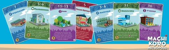 Machi Koro Metropool - Uitbreiding - Kaartspel