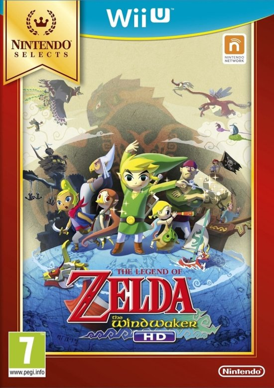 The Legend of Zelda: Wind Waker HD SELECT kopen