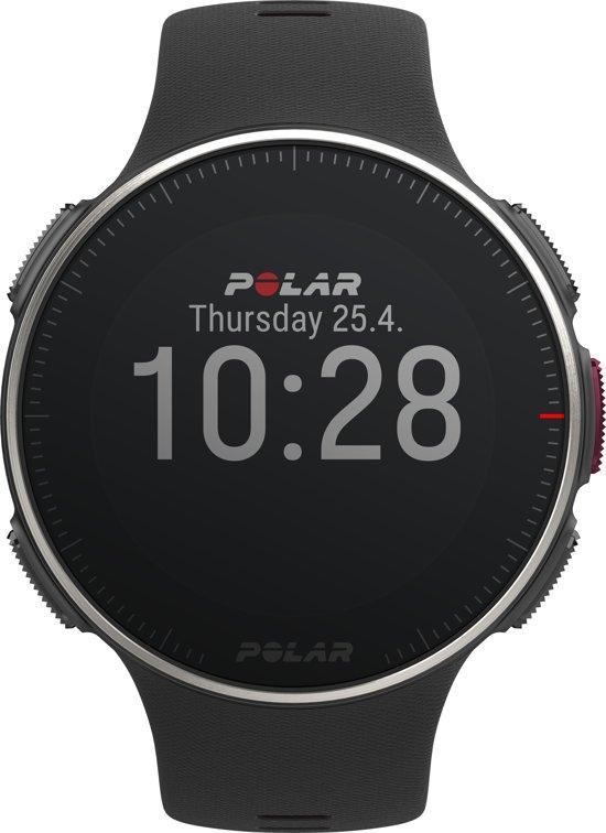Polar Vantage V Titan HR inclusief hartslagband - Multisporthorloge - GPS - Zwart