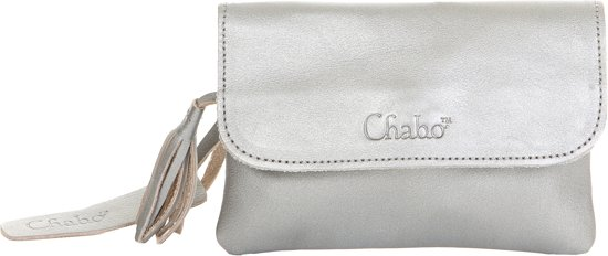 Chabo Bags Grande Petit Clutch - Silver
