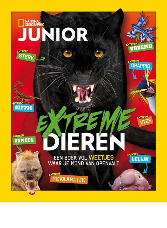 National Geographic Junior -  Vakantieboek 2018