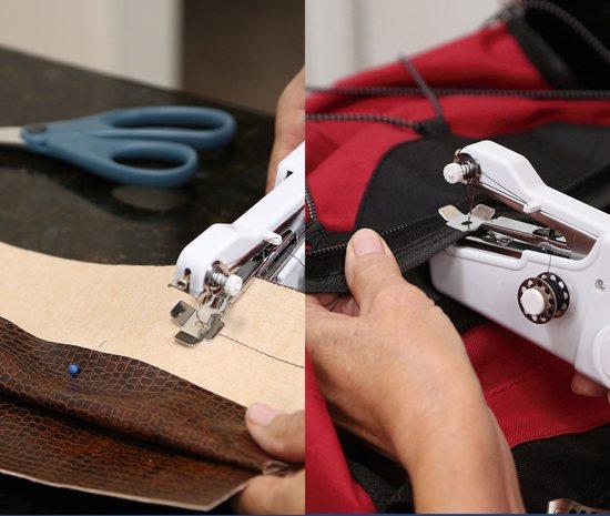 Starlyf Fast Magic Sew 2 stuks Handnaaimachine | Draadloos en Compact | Inclusief Garen | Reis Naaimachine