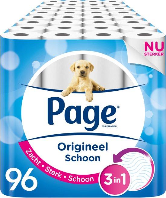 Afbeelding van Page Origineel Schoon 2-laags WC Papier  - 96-rol