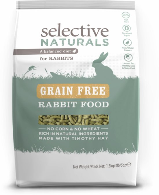 Supreme Selective Naturals Grain Free - Knaagdierenvoer - 1,5 kg