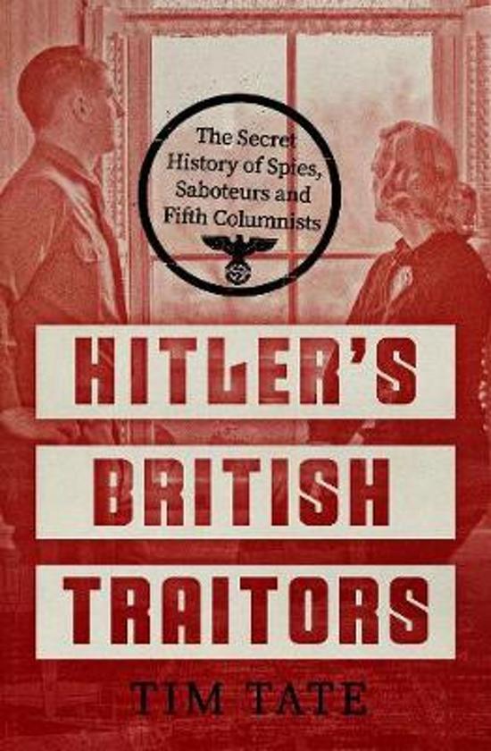Boek cover Hitlers British Traitors van Tim Tate (Hardcover)