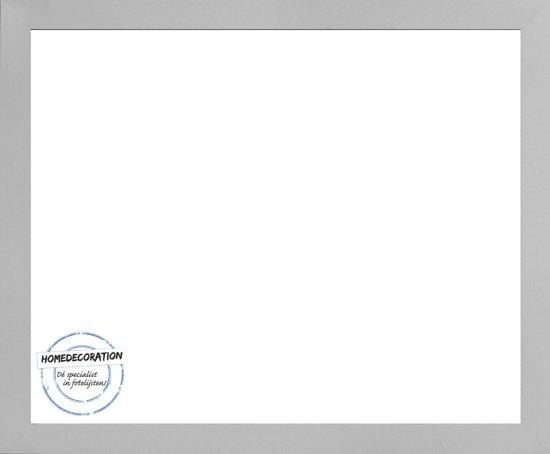 Homedecoration Misano – Fotolijst – Fotomaat – 24 x 64 cm  – Zilver mat