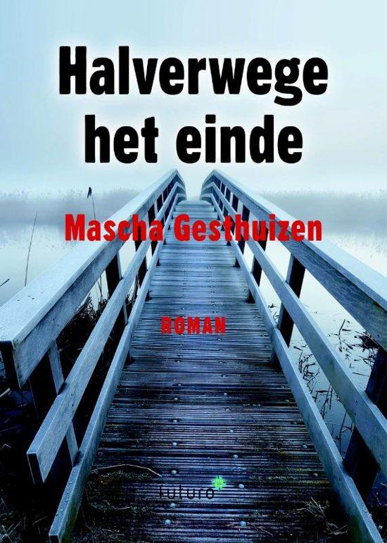 Boek cover Halverwege het einde van Mascha Gesthuizen (Paperback)