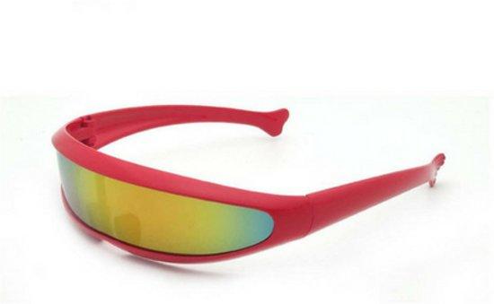 Snelle planga zonnebril - Rood - Rainbow