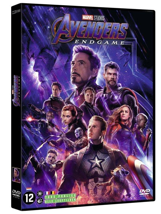 DVD cover van Avengers: Endgame