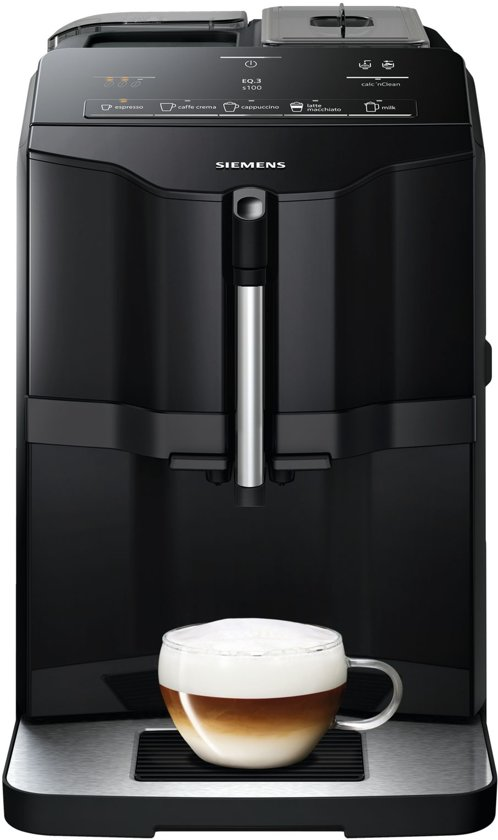 Siemens EQ3 TI30A209RW - Espressomachine - Zwart