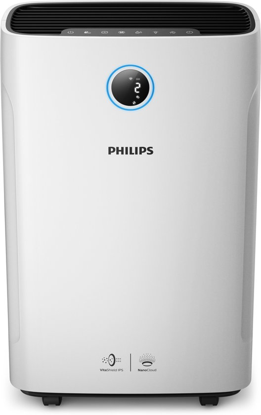 Philips AC3829/10 - Luchtreiniger & Luchtbevochtiger (Combi) - Connected