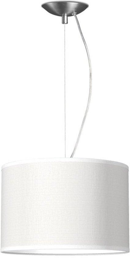 hanglamp basic deluxe bling Ø 30 cm - wit