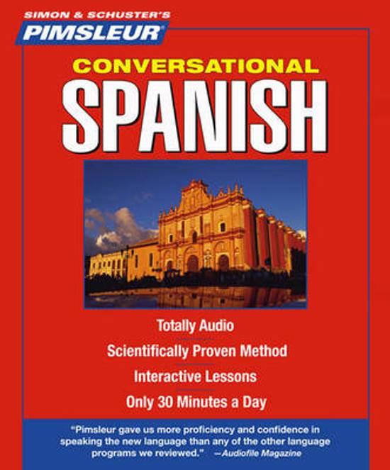 Bol Pimsleur Spanish Conversational Course Level 1 Lessons 1