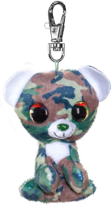 Lumo Bear Camo met clip - Mini - 8,5cm