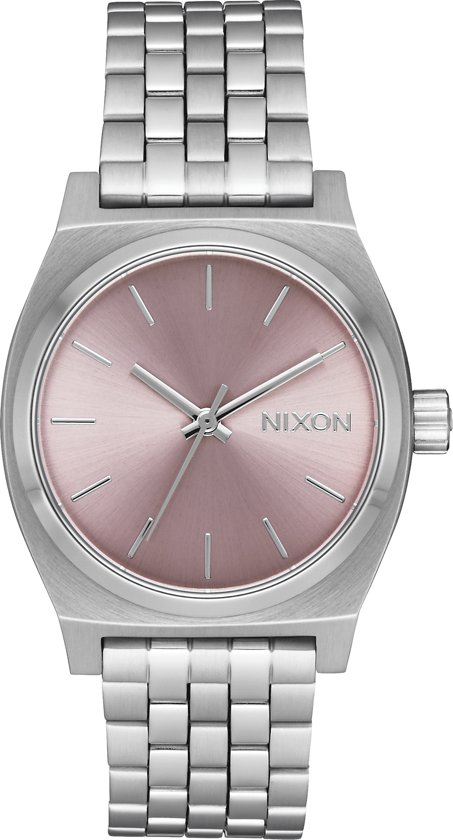 Nixon Medium Time Teller A11302878 - Horloge - Staal - Zilverkleurig - 31mm