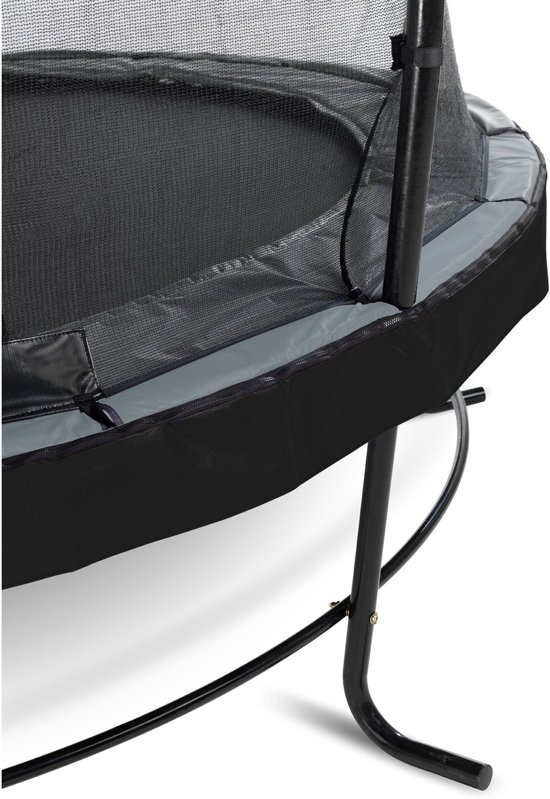 EXIT Elegant trampoline ø305cm met veiligheidsnet Economy - zwart