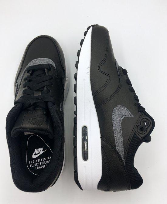 bol.com | Nike Air Max 1 SE - Sneakers - Zwart/Wit/Grijs ...