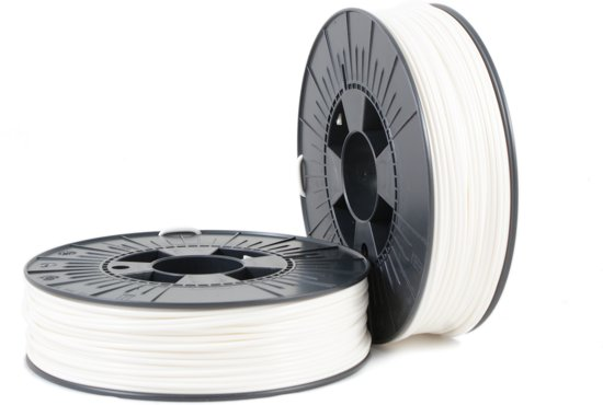 ABS-X 2,85mm white ca. RAL 9003 0,75kg - 3D Filament Supplies