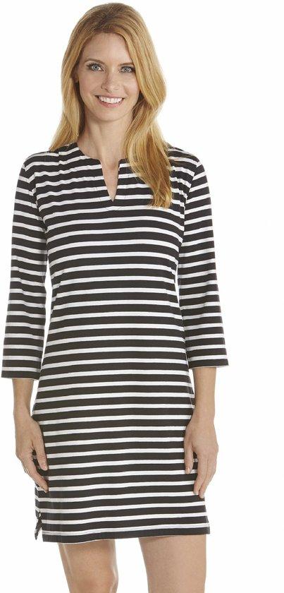 ae374d2c5129ee Coolibar UV jurk Dames - Zwart Wit - Maat L