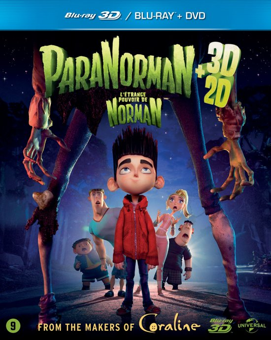 ParaNorman (2D+3D Blu-ray+Dvd)