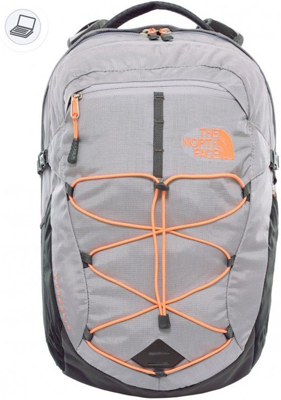 752bce0a4c The North Face Borealis Women's - Rugzak - 25L - Laptopvak - Dapple Grey  Heather