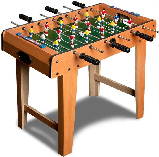 Afbeelding van Kinder voetbaltafel, speeltafel, tafelvoetbal, voetbalspel speelgoed