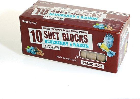 Wildbird - Vetblok - voordeelpak - bessen en rozijnen - 4-seizoenenvoer voor tuinvogels