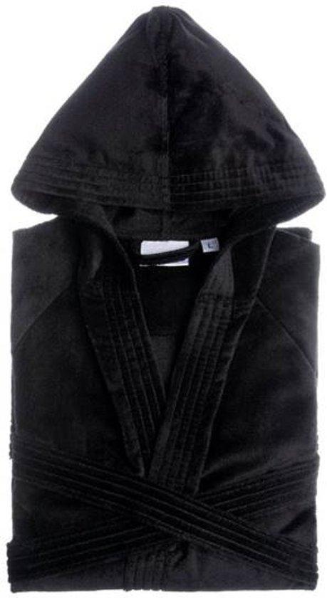 Jorzolino Hooded Badjas Zwart XS -Default