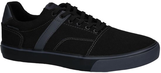 Zwarte Jack & Jones Cali Canvas Sneakers  Heren 43