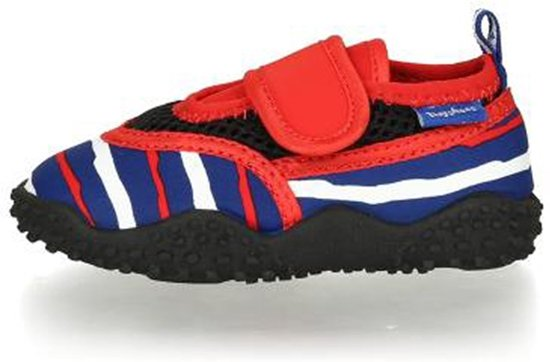 Playshoes waterschoenen rood wit blauw  maat 22/23