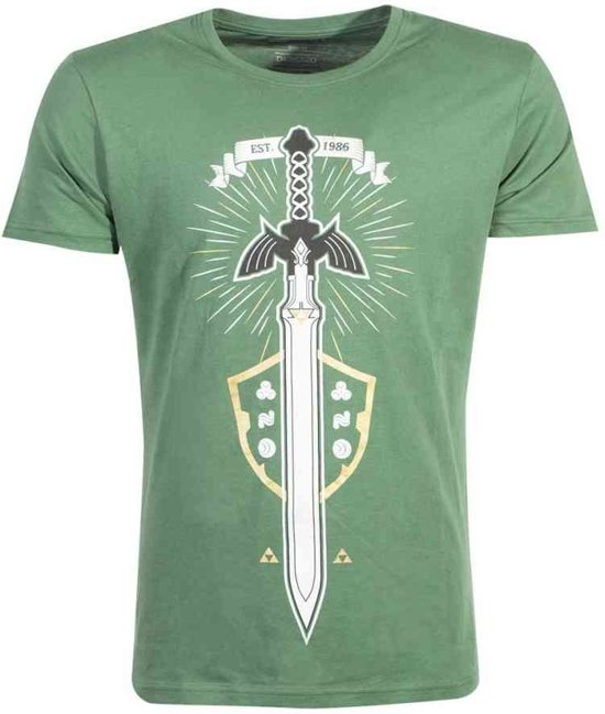 Zelda - The Master Sword Men s T-shirt - 2XL